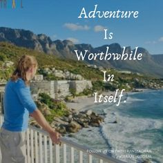 """""""Adventures Is Worthwhile In Itself"""" (^_^) #FollowUs & #StayTuned for more updates.\m/ #travel #travelgram #instatravel #instatrip #instatravelgram #instatraveler #travelquote #instaquote #adventures #memories #motivation #startups #business #seas #beach #serene #solo #tourists #subscribe #ota"""