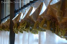 Kitchen Cafe Curtains | Beyond the Screen Door