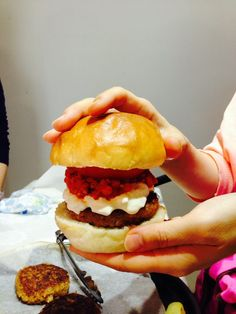 Moss-y burger This burger made from all botanical ingredients. :  by Vegan Cooking Artist Yuko-i  #Vegan #Glutenfree