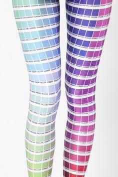 HEX Color Leggings for the ladies