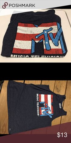 🚨marked down🚨Old Navy Classic MTV tank top Mens or women's MTV Tank top Tops Tank Tops