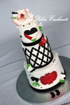 cake couleur Palestine