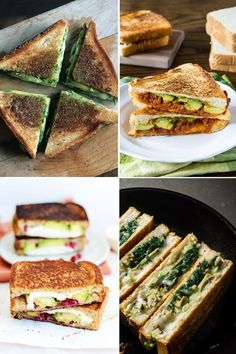 4 Ways to Turn Grilled Cheese Into Avocado Grilled Cheese (Because Isn't That Nice?)