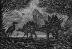 Zeropteryx, Atercurisaurus(king kong) by ABelov2014 on DeviantArt King Kong Skull Island, Reptiles, All Godzilla Monsters, The Lost World, Prehistoric Creatures, Prehistory, Fauna, Jurassic Park, Beast