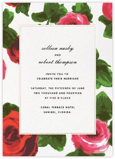 kate spade new york wedding - Paperless Post