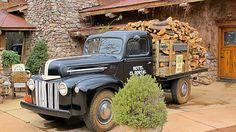 Flatbed Ford truck - El Portal Luxury Hotel - Sedona by Al_HikesAZ, via Flickr