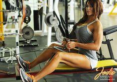 IFBB Pro Figure Competitor & Fitness Model Jodie Minear