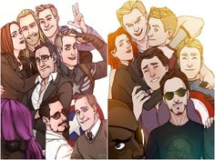 36 Pictures Taken By Superheroes: A Selfie Before Saving The World - The Avenger's Can't Take A Selfie Without Fury Photobombing It