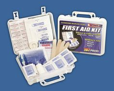 107 Piece First Aid Kit @ http://www.essentialpreps.com/107-piece-first-aid-kit/
