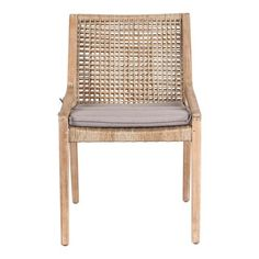 Capable of being paired with urban & traditional dining table settings, the Weave dining chair is versatile. Crafted from Acacia hardwood, be sure to order a couple online for this summer. Woven Dining Chairs, White Dining Chairs, Teak Dining Table, Outdoor Dining Chairs, Dining Room Chairs, Outdoor Living, Traditional Dining Tables, Occasional Chairs, Home Furniture