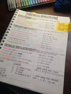 """fitgabrini: """"collegefirst: """"finally finished rewriting chem notes """" This Is So Beautiful. Chemistry Help, Chemistry Study Guide, Chemistry Notes, Teaching Chemistry, Chemistry Lessons, Science Notes, Life Science, Organic Chemistry, Chemistry Classroom"""