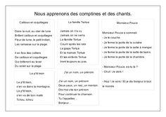 L'école de Léon - comptines