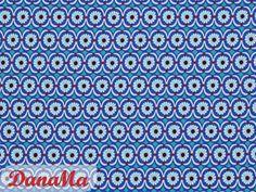 Stoffe gemustert - Jersey - Betty Butter blau - by jolijou - ein Designerstück von DanaMa-Stoffe bei DaWanda