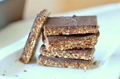 Recept: Suikervrije energierepen met quinoa en chocolade - Betty's