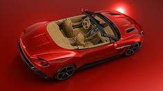 Aston Martin made a convertible #Vanquish #Zagato and of course it's amazing | The Verge #AstonMartin