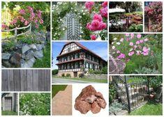 Aménagement extérieur et plan 3D de jardin d'alsace romantique et naturel Eden Design, Alsace, House Styles, 3d, Decor, Gardens, Mediterranean Garden, Exotic, Landscape Planner