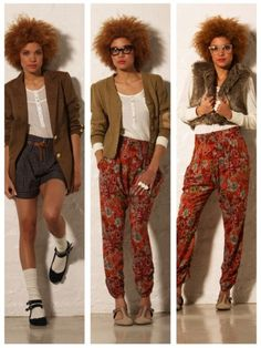 Love the pants and glasses! blipster fashion - Google Search