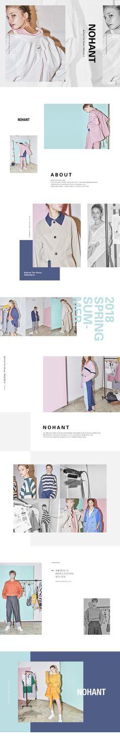 W컨셉 공식사이트, 유니크한 디자이너 브랜드 편집샵 Crea Design, Ad Design, Book Design, Layout Design, Website Layout, Web Layout, Fashion Web Design, Lookbook Layout, Fashion Banner