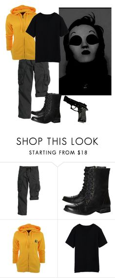 """""""You kill for fun"""" by red-foxess-and-wolf ❤ liked on Polyvore featuring Steve Madden and Antigua"""