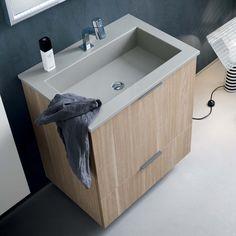 Leroy Merlin - Mobile bagno Giò 115 Mobili bagno | Bathrooms ...