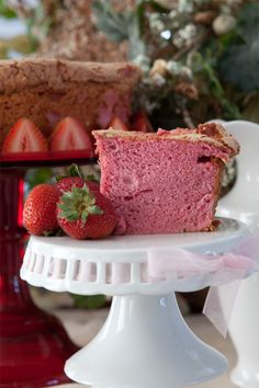 Join Bobbie and Sydney bake virtually together as they create an amazing heart shaped strawberry Angel Food Cake. Cupcakes, Cupcake Cakes, Food Cakes, Cake Making Methods, Just Desserts, Delicious Desserts, Strawberry Angel Food Cake, Yummy Treats, Sweet Treats