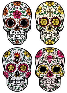 day of the dead masks drawings - Google Search