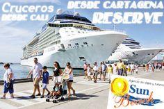 Cruceros desde Cartagena visitando Cartagena de Indias, Santa Marta, Aruba, La Guajira, Puerto Curacao, Colón, ¡RESERVA YA!. #Reserveplandeviaje desde #Cali o en www.sunbeachcali.com