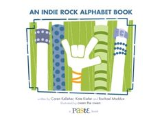 The official Indie Rock Alphabet Book party-time playlist