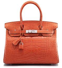 A 30CM MATTE SANGUINE ALLIGATOR BIRKIN BAG Christie's Handbag Shop