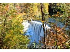 132 Cascade Lake Road, Little River, NC 28768 Here the sounds of these falls from almost 5 acres of pure privacy