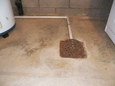installing a basement subfloor around floor drains remodeling