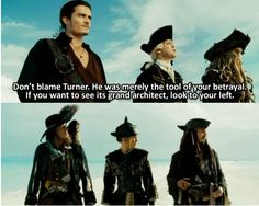 Pirates of the Caribbean I just cracked when i saw this :-D