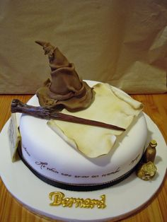 Harry Potter Cake~!