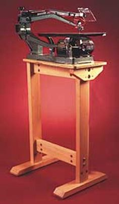 Super-Sturdy Scrollsaw Stand Woodworking Plan from WOOD Magazine