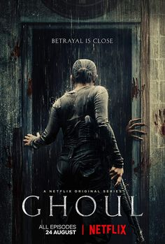 What Makes 'Ghoul' an Unusually Intense Dystopian Horror Thriller? Horror Movie Posters, Best Horror Movies, Scary Movies, Netflix Series, Tv Series, Movie List, Movie Tv, Ghoul Movie, Night Film