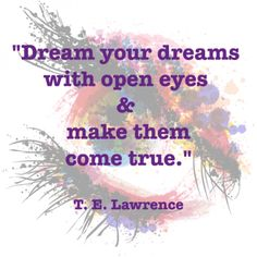 """""""Dream your dream with open eyes and make them come true. Eye Make, How To Make, Dreaming Of You, Writing, Eyes, Words, Winter, Quotes, Blog"""