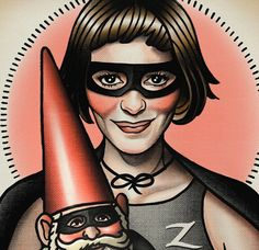 Amelie Tattoo Flash by ParlorTattooPrints on Etsy