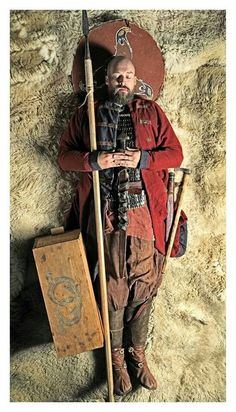 Dead viking - Foto by Jim Lyngvild