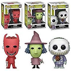 Funko POP Disney Tim Burton's The Nightmare Before Christmas Movie: Lock Shock and Barrel Toy Action Figures - 3 POP BUNDLE >>> Details can be found by clicking on the image. (This is an affiliate link) Nightmare Before Christmas Film, Nightmare Before Christmas Decorations, Funko Pop Figures, Vinyl Figures, Action Figures, Funko Pop Horror, Funko Pop Dolls, Pop Figurine, Pop Characters