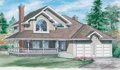 Eplans Country House Plan - Charming Home - 1849 Square Feet and 3 Bedrooms from Eplans - House Plan Code HWEPL06177