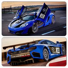 Deep Blue Gemballa McLaren MP4-12C GT3 sweet!
