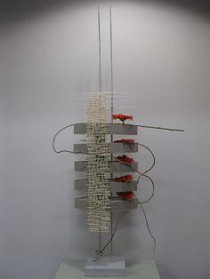 Design by Rae Baxter Featuring corrugated cardboard