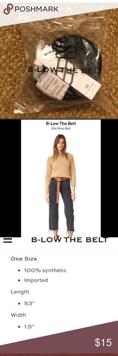 B Low the Belt from Fab Fit Fun - new with tags Black belt, new with tags B Low Accessories Belts