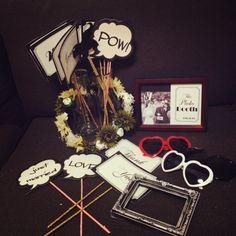 「フォトプロップス♡」の画像|happyWedding 90日日記 |Ameba (アメーバ) Tree Wedding, Wedding Paper, Diy Wedding, Wedding Photo Booth Props, Photo Props, Welcome Photos, Wedding Welcome, Diy Photo, Paper Design