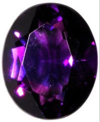 Violine gems were purple and volcanic in nature. Found in deposits mixed with other minerals and occasionally of exceptional (up to human fist) size, this ornamental stone was usually cut cabochon and polished, or faceted baguette style. A typical stone had a base value of 10 gp.
