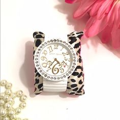 Betsey Johnson Watch White Betsey Johnson watch. In like-new condition. Stretchy band. Will need new battery. Betsey Johnson Accessories Watches