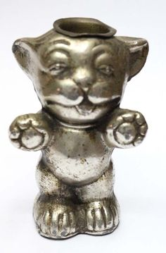 Rare old iron Bonzo dog toothpick holder