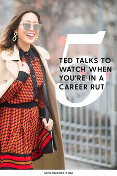 Career infographic & Advice Struggling to find your purpose? Tune in to these inspiring TED Talks to discove. Image Description Struggling to find your
