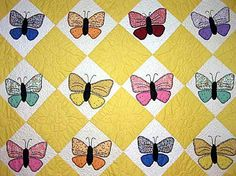 Applique Butterflies Quilt