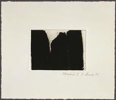 yama-bato:  Richard Serra Videy Afangar Series, Videy Afangar #4, 1991 26.7 x 30.5cm (101/2 x 12 in.) 47.53 © 2001 Richard Serra / Artists Rights Society (ARS), New York; © Gemini G.E.L. and the Artist